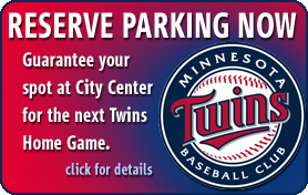 Reserve Parking Now for Twins Home Games